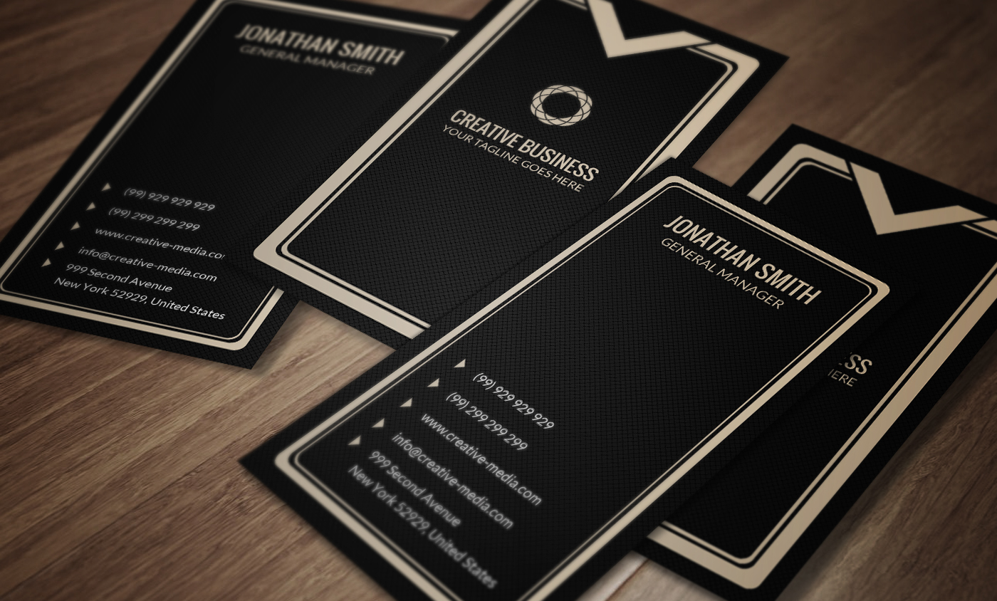 Luxury Business Card CM026 Business Card Templates on