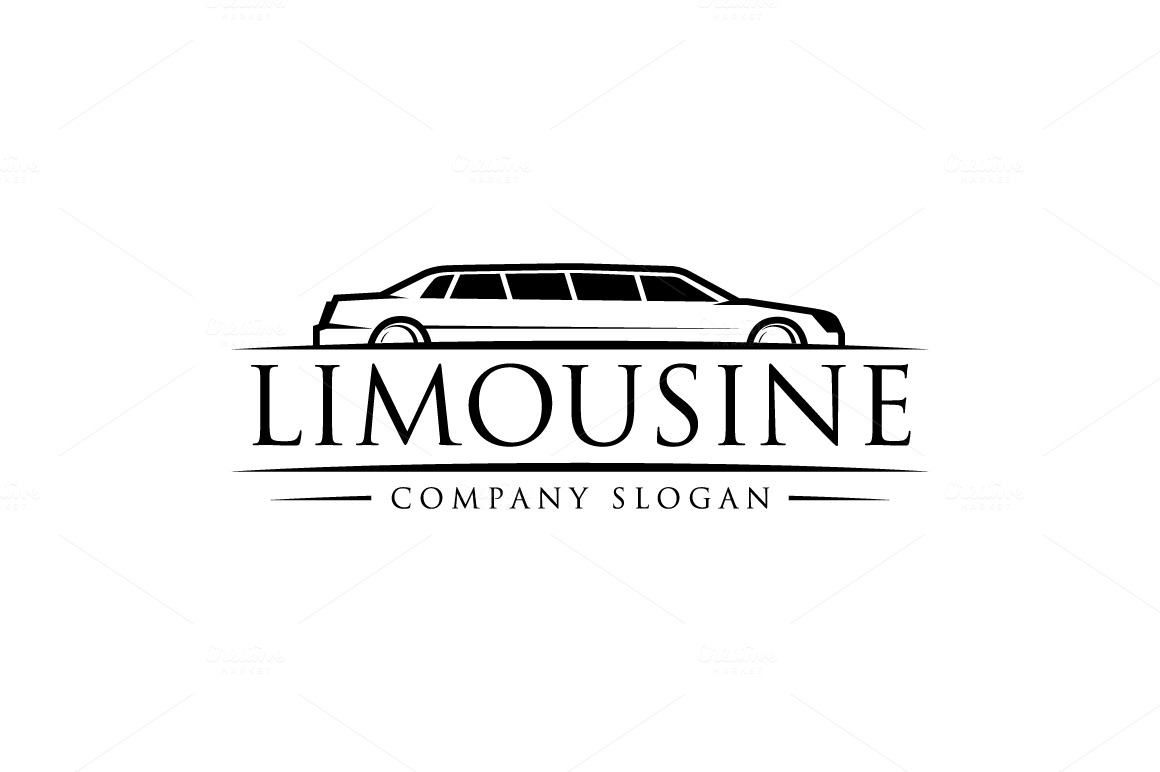 Limousine Logo Logo Templates on Creative Market