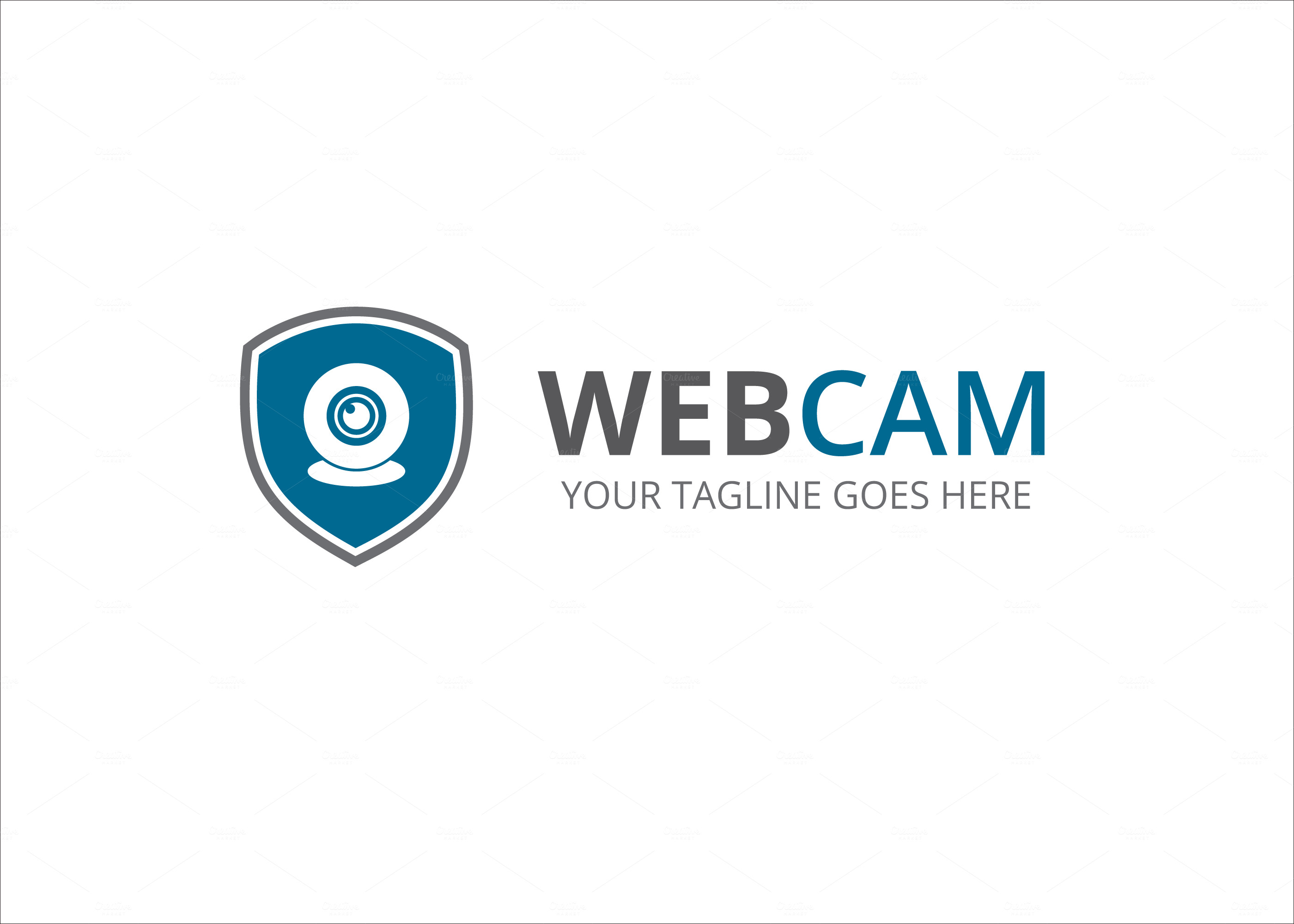 Web Cam Logo ~ Logo Templates on Creative Market