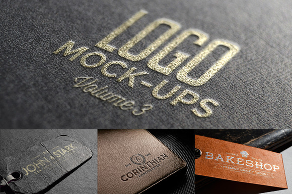 Logo Mock-ups Vol.3 - Product Mockups