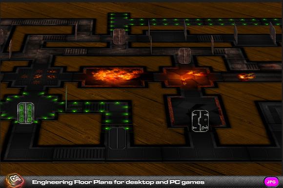 Engineering Floor Plans For Games