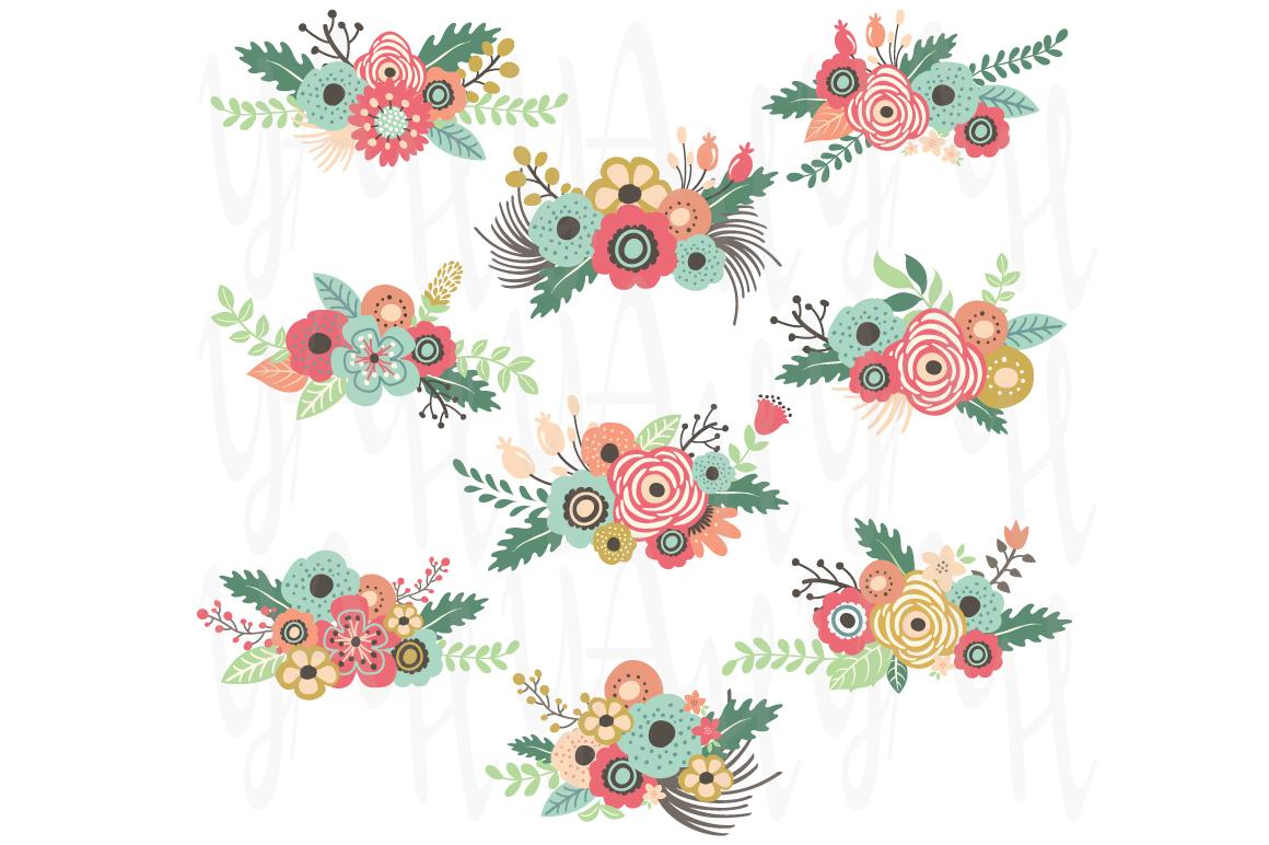 Vintage Floral Clip Art 88