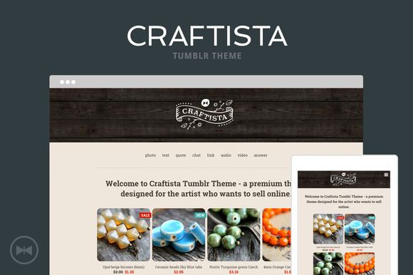 Craftista Tumblr Theme - Tumblr - 1