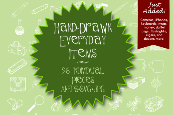 Hand Drawn Everyday Items