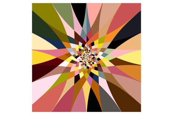Color Bloom Radial