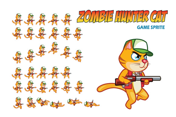 [تصویر:  zombiehuntercatpreview-f.jpg?1415622060]