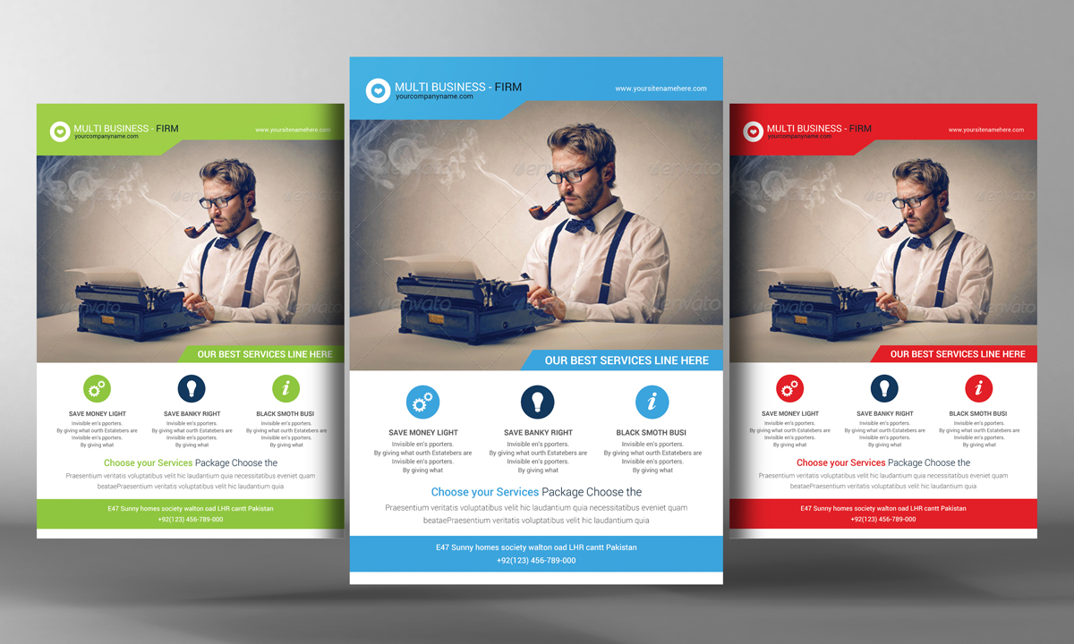 Creative Design Flyer Template Flyer Templates On