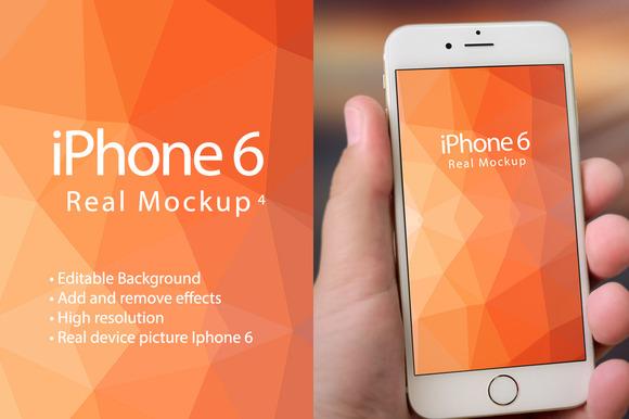 Mockup Iphone 6 Real Mockup 4