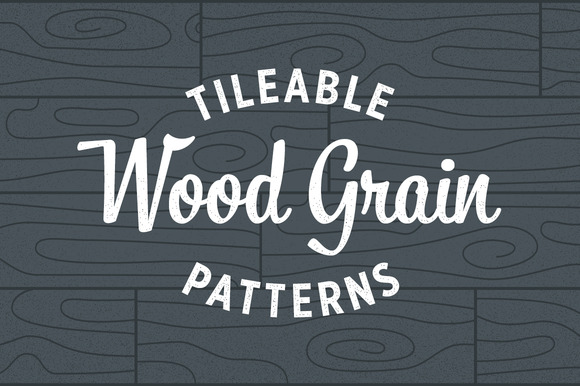 Wood Grain Patterns - Tileable - Patterns - 1