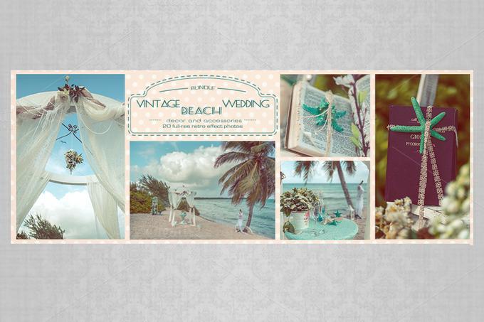 Vintage Beach Wedding Ceremony: Bundle: Vintage Beach Wedding