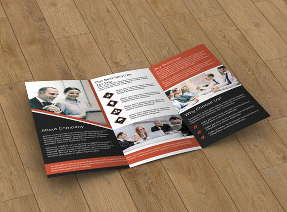 Business Brochure trifold