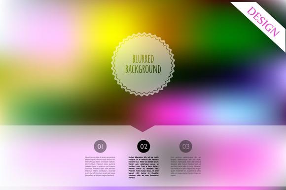 3 Blured Designs