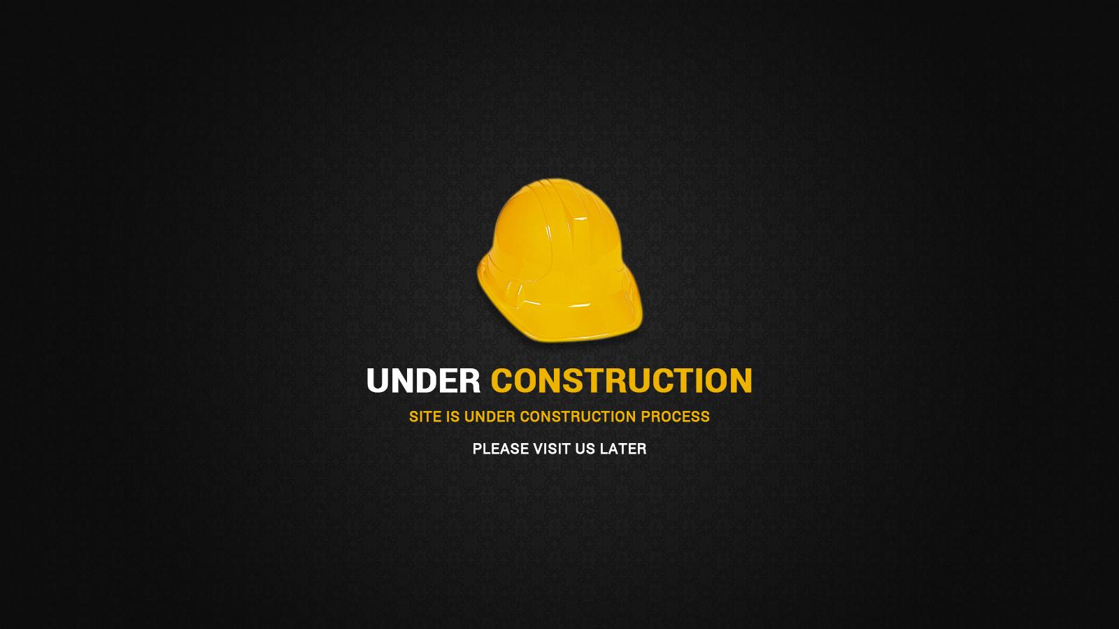 Under Construction Page - Web Elements - 1
