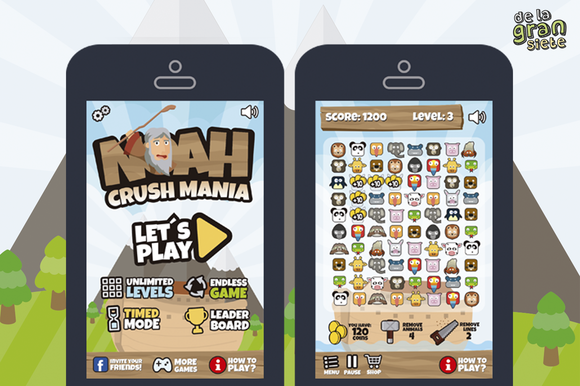 Noah's Ark Match 3 Style Game Assets