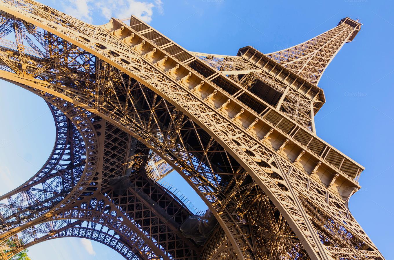Paris eiffel tower wide view architecture photos on for Eiffel architect