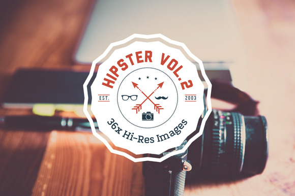 HIPSTER SET Vol. 2 - 36x HiRes - Objects