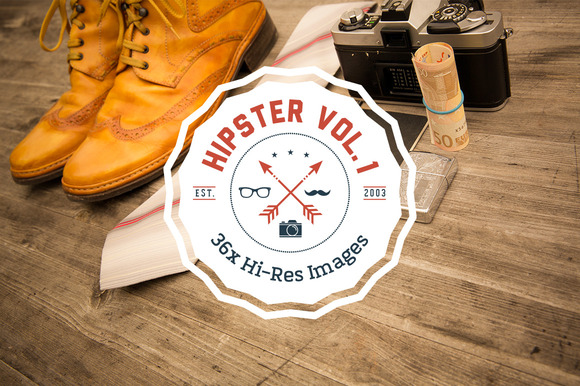 HIPSTER SET Vol. 1 - 36x HiRes - Objects