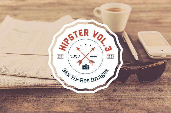 HIPSTER SET Vol. 3 - 36x HiRes - Objects