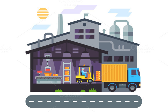 Warehouse Building Delivery