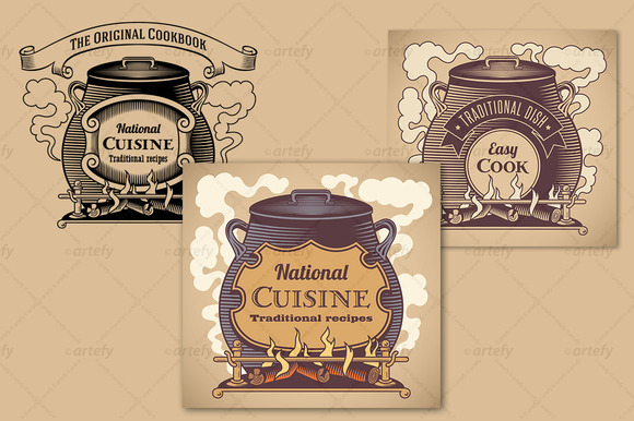 Traditional Cuisine Labels