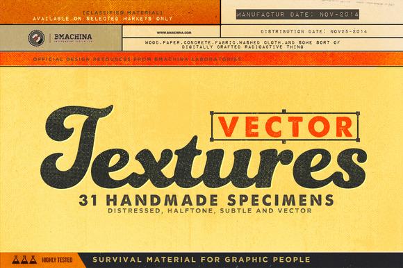 vector halftone textures