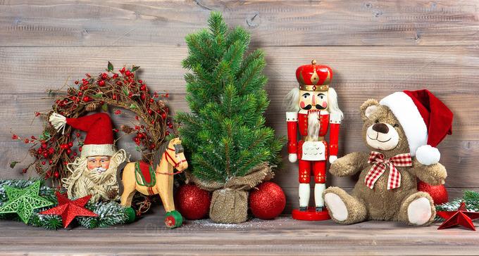 Christmas Toys Product : Christmas toys decoration holiday photos on creative market