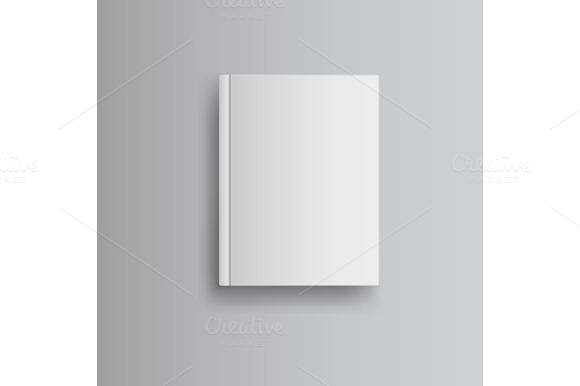 Blank Book Cover Graphic : Blank book cover graphics on creative market