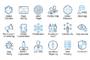 ikooni outline: SEO, Web & -Graphicriver中文最全的素材分享平台