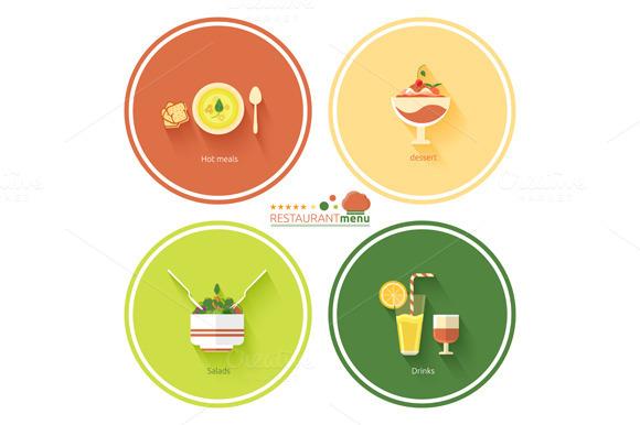 Set Restaurant Menu Designs