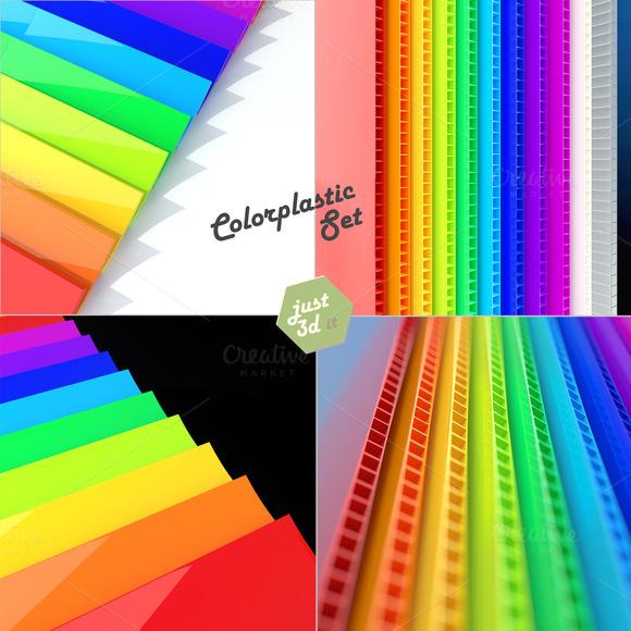 Color Plastic Samples