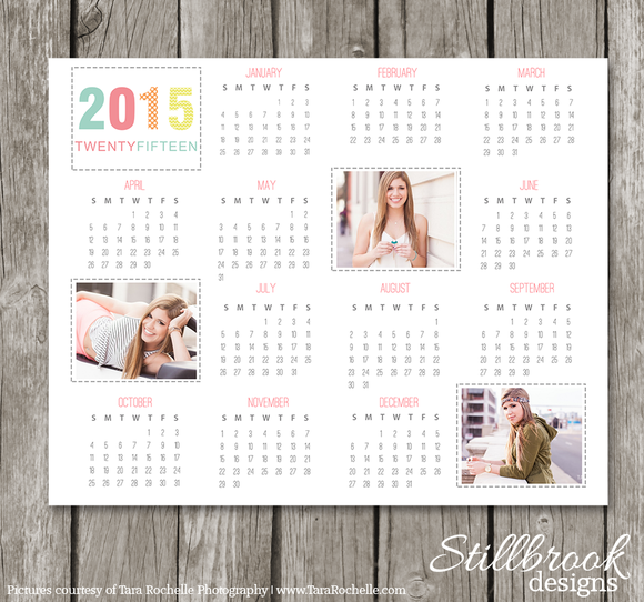 Creative Calendar Design Template 2015 : Calendar template stationery templates on
