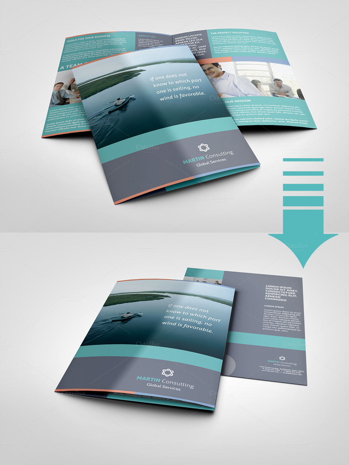 a5 brochure template - a5 half fold brochure 4 pages brochure templates on