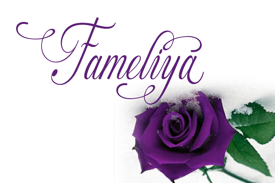 Fameliya Font Download