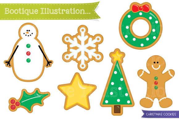Christmas Cookies Clipart