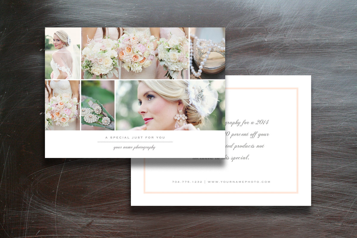 Wedding Gift Card Presentation : Photographer Marketing Set ~ Presentation Templates on Creative Market
