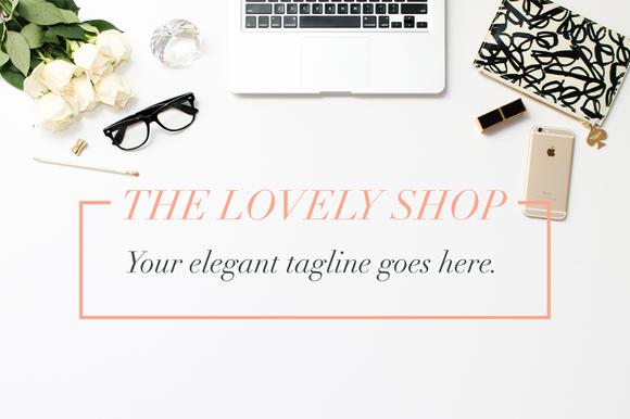 Elegant Hero Blogger Header Images