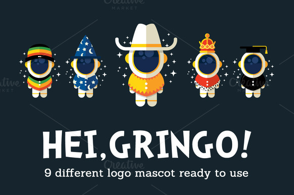 Hei Gringo 9 Logo Versatile Variant