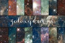 Galaxy Dreams Digital Paper