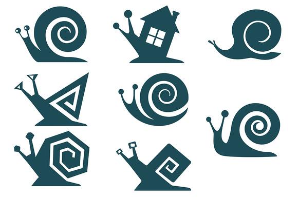 Set Of Snails