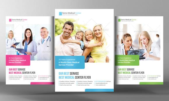 medical health care flyer template flyer templates on. Black Bedroom Furniture Sets. Home Design Ideas