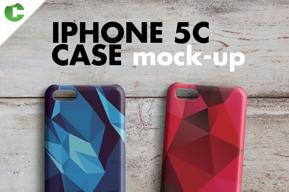 iphone 5c case mock