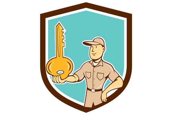 Locksmith Balancing Key Palm Shield