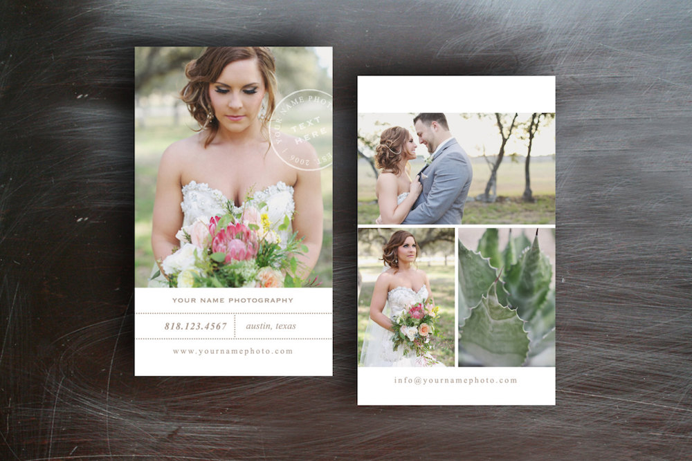 Wedding Photography Business Card Business Card Templates On Creative Market