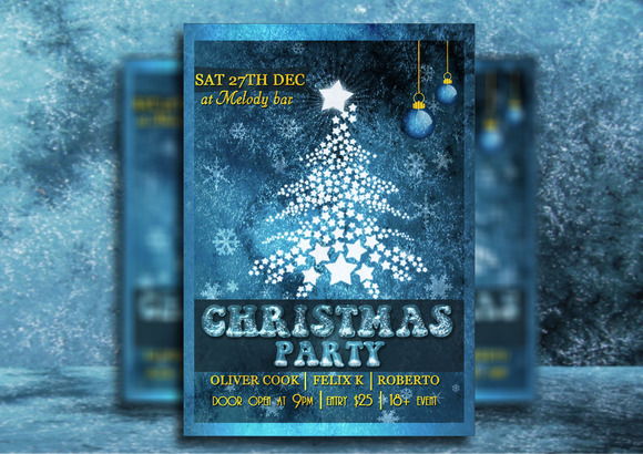 Christmas Party Flyer - Flyers - 1