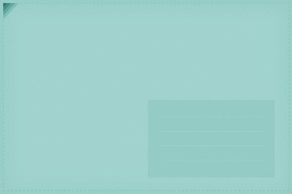 Pastel Textured Paper Envelope