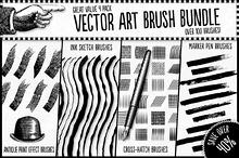 Vector Art Brush Bundle