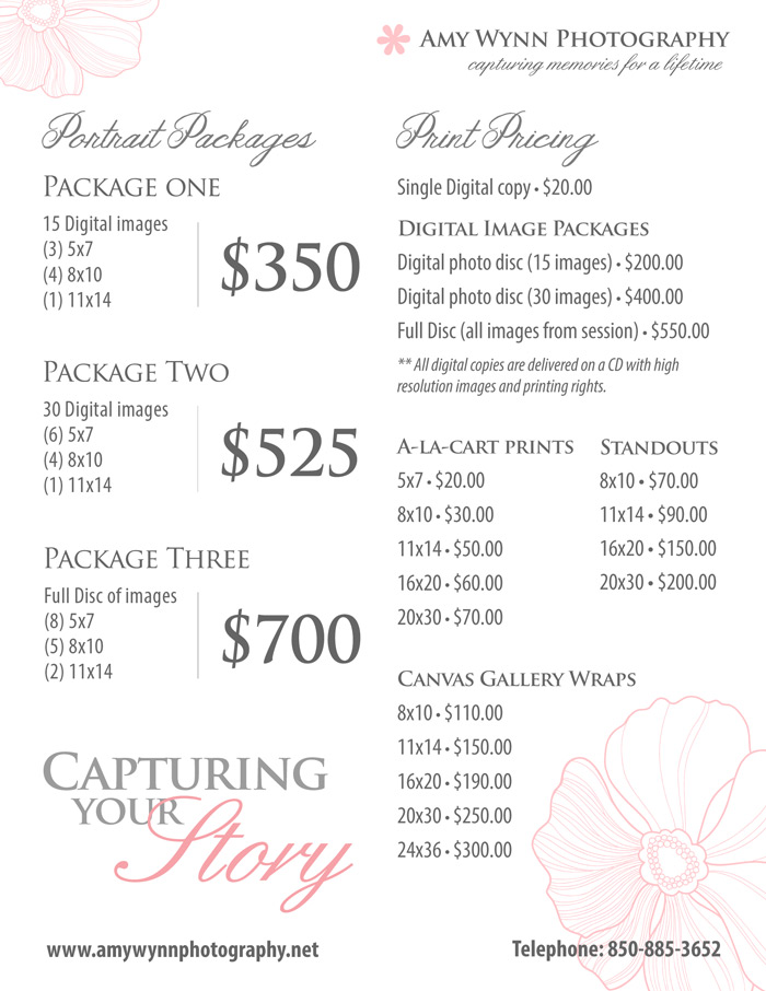 Price List Template - Pricing Sheet ~ Flyer Templates on ...