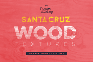 Santa Cruz Wood Texture Pack