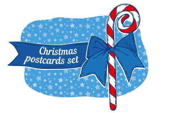 Christmas Postcard Set