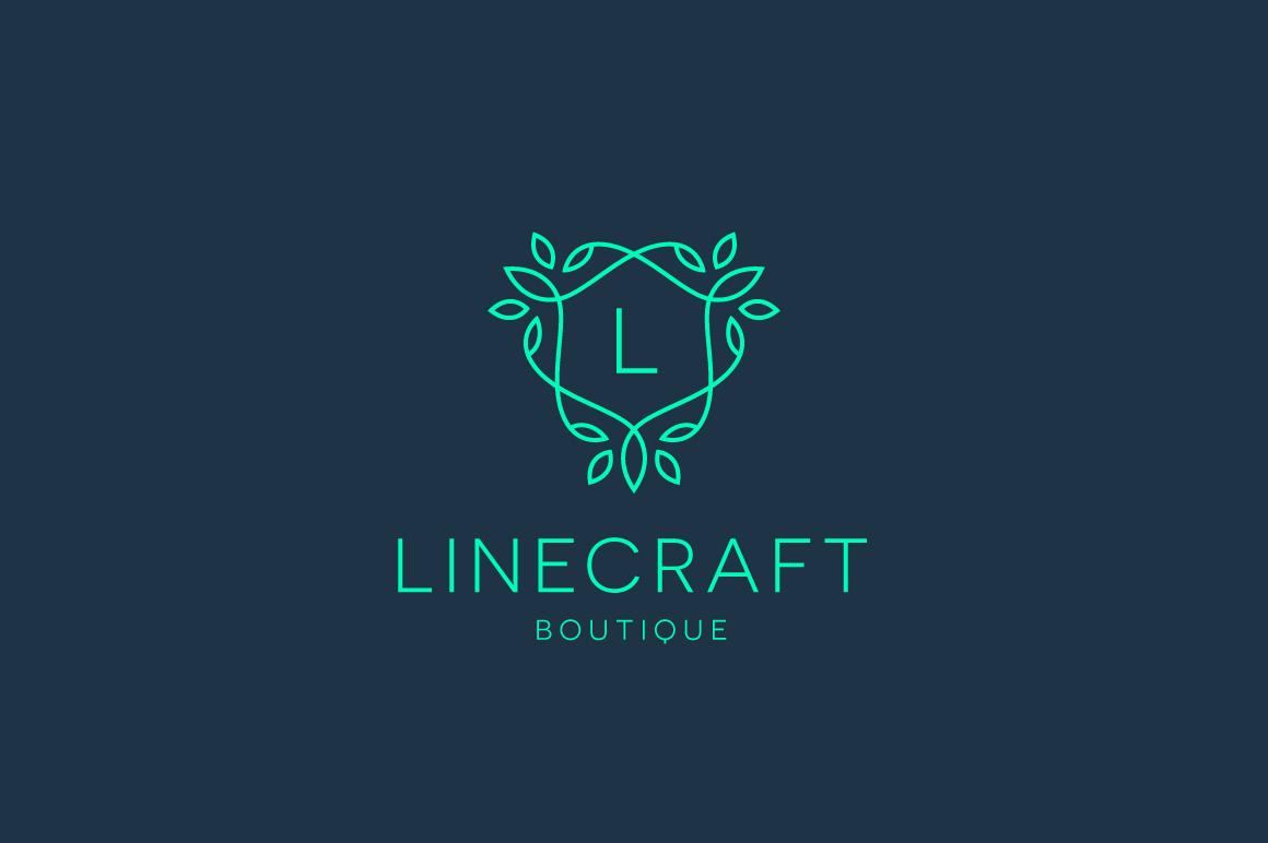 linecraft boutique logo bundle